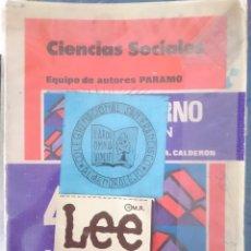 Libros de segunda mano: LIBRO TEXTO - 4 EGB CICLO MEDIO - ED. PARAMO -REFM1E3. Lote 58066989