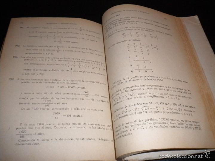 Libros de segunda mano: ejercicios y problemas de aritmetica / M. garcia ardura - Foto 2 - 150040874