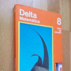 Libros de segunda mano: DELTA MATEMÁTICA. LIBRO DE CONSULTA, NIVEL 8 / SANTILLANA, S. A. DE EDICIONES, 1973. Lote 58390061