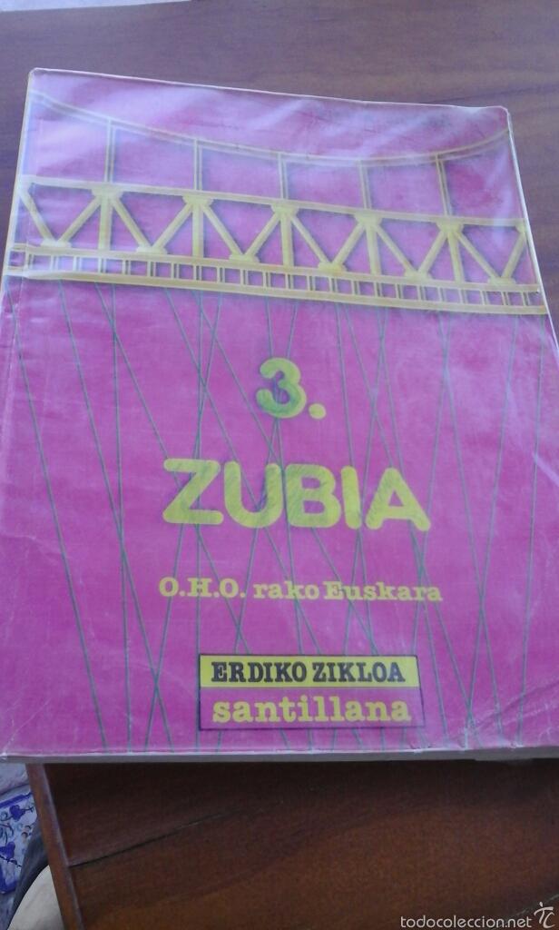 ZUBIA 3.SANTILLANA.89 (Libros de Segunda Mano - Libros de Texto )