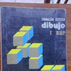 Libros de segunda mano: FORMACION ESTETICA.DIBUJO.1 BUP.EDELVIVES.1983. Lote 58452381