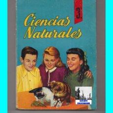 Libros de segunda mano: CIENCIAS NATURALES - 3º - LEGORBURU IGARTUA - BARRUTIA LARRAÑAGA - SM - BACHILLERATO - 1966. Lote 98878474