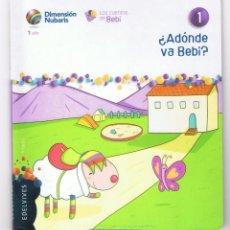 Libros de segunda mano: LIBROS INFANTILES 13 - EDELVIVES + CD CANTAR Y CONTAR + AROS BEBI DIMENSIÓN NUBARIS MD52. Lote 58602093