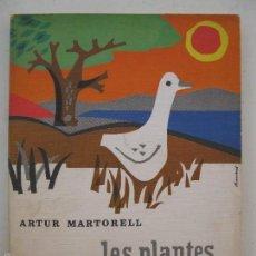 Libros de segunda mano - LES PLANTES, ELS ANIMALS, ELS ELEMENTS - ARTUR MARTORELL - EN CATALÁN - EDITORIAL TEIDE - AÑO 1968. - 58625822