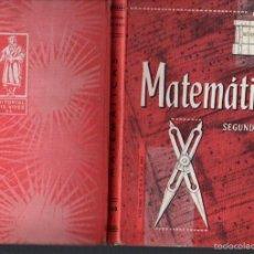 Libros de segunda mano: MATEMÁTICAS EDELVIVES SEGUNDO CURSO (1966). Lote 58667879