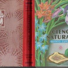 Libros de segunda mano: CIENCIAS NATURALES EDELVIVES QUINTO CURSO (1960). Lote 58668020