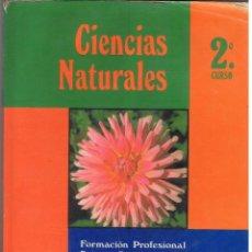 Libros de segunda mano: CIENCIAS NATURALES 2º CURSO FOMACIÓN PROFESIONAL PRIMER GRADO SANTILLANA 191 PAG AÑO 1990 MD152. Lote 58736420