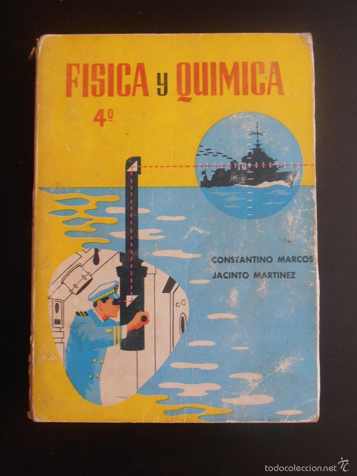 Antiguo libro de texto fisica y quimica 4 edit comprar libros de texto en todocoleccion - Libreria segunda mano online ...
