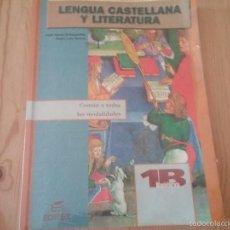 Libros de segunda mano: LIBRO 1 DE BACHILLERATO. LENGUA CASTELLANA Y LITERATURA.. Lote 59645627