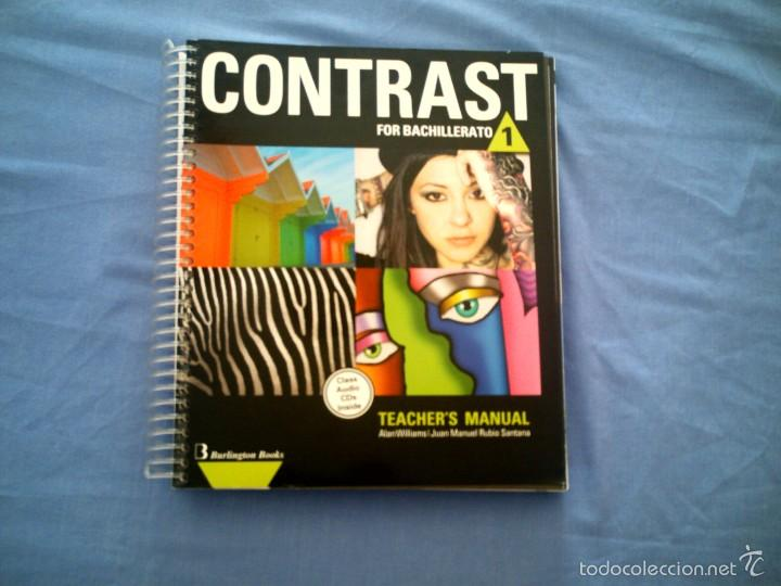 contrast for bachillerato 1 teacher s manual l comprar libros de rh todocoleccion net Textbook Instructor Manuals Teacher Manual Layout