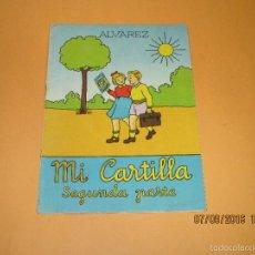 Libros de segunda mano: ANTIGUO LIBRO DE ESCUELA *MI CARTILLA* 2ª PARTE DE ALVAREZ - AÑO 1962. Lote 60044139
