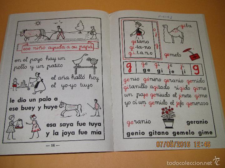 Libros de segunda mano: Antiguo Libro de Escuela *MI CARTILLA* 2ª Parte de ALVAREZ - Año 1962 - Foto 2 - 60044139