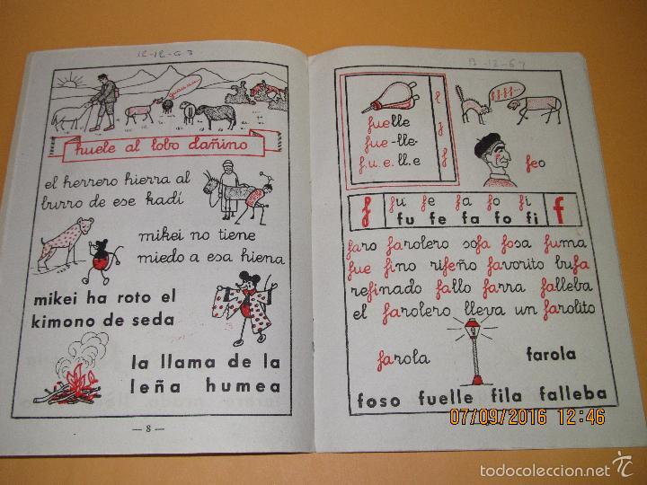 Libros de segunda mano: Antiguo Libro de Escuela *MI CARTILLA* 2ª Parte de ALVAREZ - Año 1962 - Foto 3 - 60044139