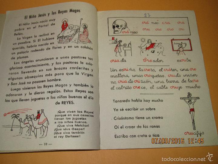 Libros de segunda mano: Antiguo Libro de Escuela *MI CARTILLA* 4ª Parte de ALVAREZ - Año 1962 - Foto 2 - 60044675