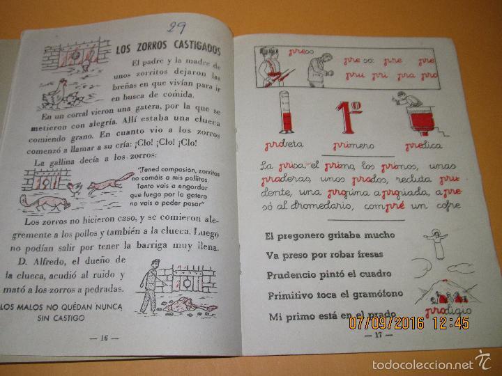 Libros de segunda mano: Antiguo Libro de Escuela *MI CARTILLA* 4ª Parte de ALVAREZ - Año 1962 - Foto 3 - 60044675