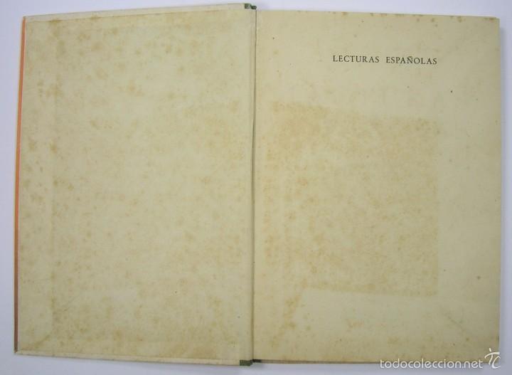 Libros de segunda mano: LECTURAS ESPAÑOLAS, ADOLFO MAILLO. AFRODISIO AGUADO 1943. VER FOTOS - Foto 2 - 60182439