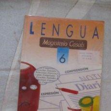 Libros de segunda mano: M69 LIBRO DE TEXTO 6 E.G.B. EGB LENGUAJE MAGISTERIO CASALS. Lote 60195039