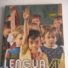 Libros de segunda mano: LENGUA 4º. LIBRO DEL ALUMNO. BEGOÑA BILBAO. Mª ISABEL ALVAREZ. JUAN NORIEGA. H.S.R. HIJOS DE SANTIAG. Lote 60309755