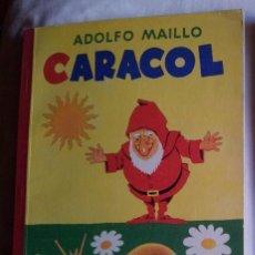 Libros de segunda mano: CARACOL, LIBRO DE PRIMERAS LECTURAS-ADOLFO MAÍLLO-HIJOS DE SANTIAGO RODRÍGUEZ. Lote 60725439
