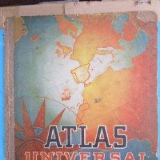 Libros de segunda mano: LIBRO ESCOLAR ATLAS UNIVERSAL DE ESPAÑA, EDITOROAL LUIS VIVES AÑOS 50. Lote 60748855