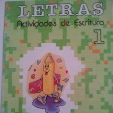 Libros de segunda mano: EGB. 24 CUADERNOS DE ACTIVIDADES DE ESCRITURA. LETRAS. CICLO INICIAL.EDELVIVES.1989. TOTALMENTE NUEV. Lote 60906343