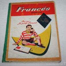 Libros de segunda mano: FRANCES INICIACION, CURSO PREPARATORIO, EDICIONES S. M. 1959, LIBRO TEXTO ANTIGUO. Lote 86754959