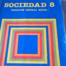 Libros de segunda mano: SOCIEDAD 8. Lote 61930520