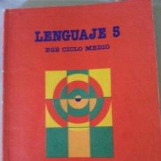 Libros de segunda mano: EGB. LENGUAJE 5º. CICLO MEDIO. SANTILLANA. Lote 61989176