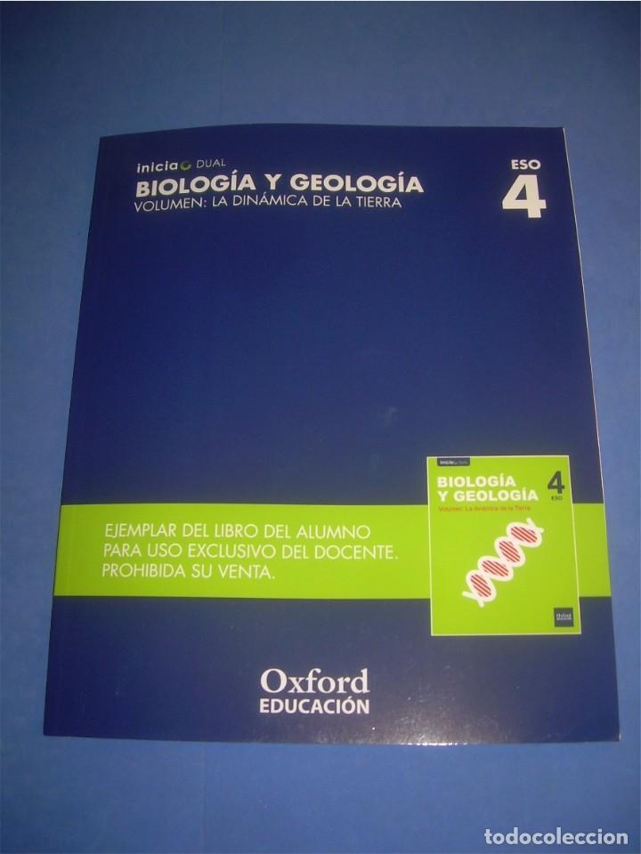 Biología Y Geología 4 Eso Volumen La Dinámic Comprar Libros De Texto En Todocoleccion 99523374
