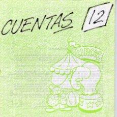 Libros de segunda mano: CUADERNILLO DE CUENTAS EDELVIVES Nº 12, RESTAS LLEVANDO. Lote 62329840