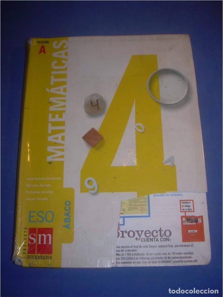 matemáticas 4 eso secundaria. opción a. sm 2008 - Kaufen Lehrbücher ...