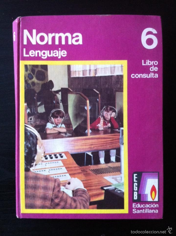 NORMA LENGUAJE LIBRO DE CONSULTA 6º EGB (Libros de Segunda Mano - Libros de Texto )