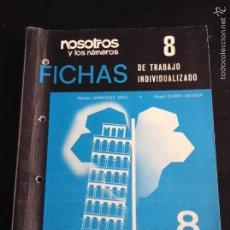 Libros de segunda mano: NOSOTROS Y LOS NÚMEROS EGB EDELVIVES. Lote 64832017