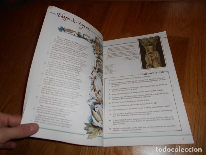 Libros de segunda mano: LIBRO TEXTO Antos lecturas y comentarios 7 EGB Anaya 1986 PERFECTO DE ALMACEN - Foto 5 - 65742722
