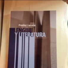 Libros de segunda mano: CFGS. LENGUA Y LITERATURA. PRUEBA DE ACCESO. ROSA MARÍA MARTÍN CASAMITJANA. Lote 65857150