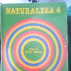 Libros de segunda mano: LIBRO TEXTO NATURALEZA 4 EGB CICLO MEDIO - SANTILLANA. Lote 67700541