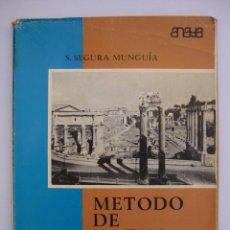 Libros de segunda mano: MÉTODO DE LATÍN 5 / 5º - QUINTO CURSO - SANTIAGO SEGURA MUNGUÍA - ANAYA 1971. Lote 67987217