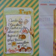 Libros de segunda mano: CASTELLANO 1º EGB. LIBRO DEL PROFESOR (AÑO 1985). Lote 68215153