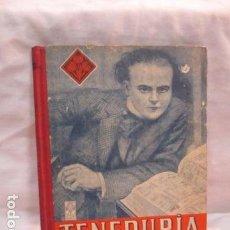 Libros de segunda mano: TENEDURIA DE LIBROS POR PARTIDA DOBLE PRIMER GRADP, EDELVIVES 1948 - 96 PAGINAS TAPA DURA . Lote 68608785