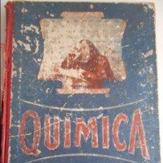 Libros de segunda mano: QUIMICA. QUINTO CURSO. EDELVIVES, 1954. TAPA DURA. CON SEÑALES DE USO PERO ACEPTABLE. 216 PAGINAS. 3. Lote 69064617