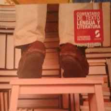 Libros de segunda mano: LIBRO COMENTARIO TEXTO LENGUA Y LITERATURA 2° BACHILLERATO. Lote 146960117