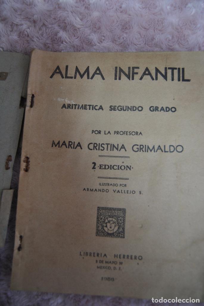Libros de segunda mano: Raro Libro de Aritmética 1956 Alma infantil segundo grado - Foto 2 - 70463993