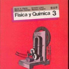 Second hand books - FISICA Y QUIMICA 3º BUP, SM 1987 - 70521561