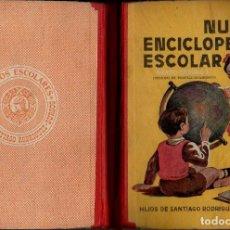 Libros de segunda mano: NUEVA ENCICLOPEDIA ESCOLAR GRADO SEGUNDO HIJOS DE SANTIAGO RODRÍGUEZ, BURGOS, 1954. Lote 71183769