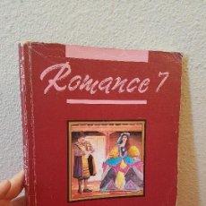 Libros de segunda mano: LIBRO DE TEXTO O ESCUELA EGB ROMANCE 7 º LENGUA SANTILLANA 1989. Lote 71413023
