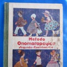 Libros de segunda mano: MÉTODO ONOMATOPÉYICO PARA ENSEÑAR A LEER Y ESCRIBIR. FACSÍMIL. GREGORIO TORRES. MEXICO, 1983.. Lote 71521895