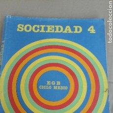 Libros de segunda mano: SOCIEDAD 4.SANTILLANA. Lote 71572090