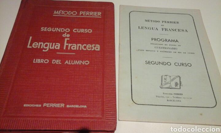 METODO PERRIER.SEGUNDO CURSO DE LENGUA FRANCESA.1957 (Libros de Segunda Mano - Libros de Texto )