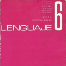 Libros de segunda mano: LENGUAJE 6, 6º EGB. Lote 72251067
