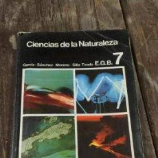 Libros de segunda mano: CIENCIAS NATURALEZA. 7 EGB . DIDASCALIA. AÑOS 80. Lote 73469527